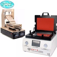 TBK 808 LCD Touch Screen Repair Automatic Bubble Removing Machine And LCD Screen Separator Preheater OCA