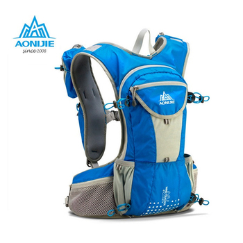 AONIJIE 12L Outdoor Sport Running Backpack Marathon Trail Running Hydration Vest Pack for 2L Water Bag Hiking Bag Hydration Bag