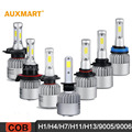 Auxmart H1/H4/H7/H11/H13/9005/9006 COB 72W LED Car Headlight Bulbs 6500K 8000LM Headlight All-In-One Hi-Lo/Single Beam Fog lamps