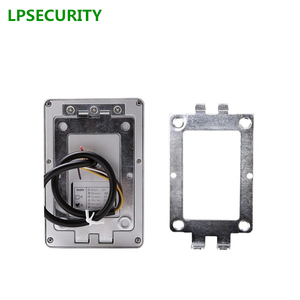 Image 2 - LPSECURITY שער נעילת בקרת הגישה דלת מתכת מקרה עמיד למים rfid סמיכות 125 Khz או 13.56 MHZ WG26 קורא כרטיסי RFID