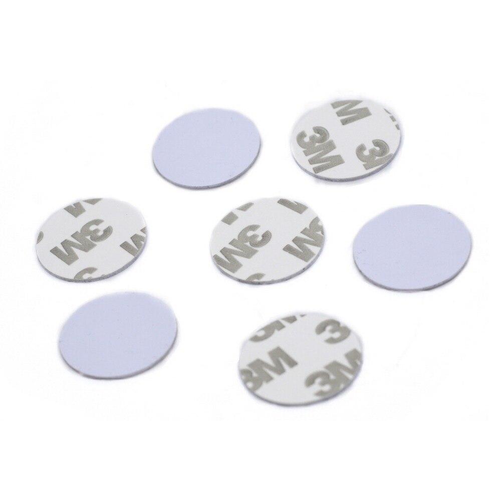 125Khz RFID EM4100 TK4100 ID Blank Coin Tag With 3M Adhesive Diameter 20mm 1000pcs/lot