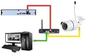 Image 5 - Камера видеонаблюдения POE, наружная камера видеонаблюдения, 2,8 мм, 960P, 720P, H.265, 1080P, уведомление по электронной почте, XMEye, ONVIF, P2P, обнаружение движения, RTSP, 48 В