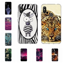 For Xiaomi Redmi Note 6 Pro Case Soft TPU Silicone Cover Scenery Pattern Capa