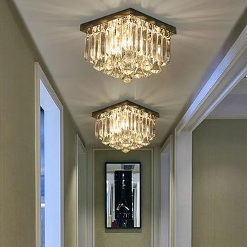 Lámpara de techo LED de cristal moderna para lámpara de interior lamparas  de techo de montaje de superficie de techo para comedor de dormitorio >> ...