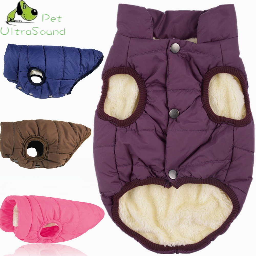 Winter Dog Coat Clothes For Dogs Windproof Clothing Warm Dog Clothes For Small Pets Christmas Dog Coat Jackets Chihuahua Bulldog