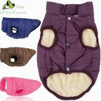 Winter Hund Mantel Kleidung für Hunde Winddicht Kleidung Warme Hund Kleidung für Kleine Haustiere Weihnachten Hund Mantel Jacken Chihuahua Bulldog