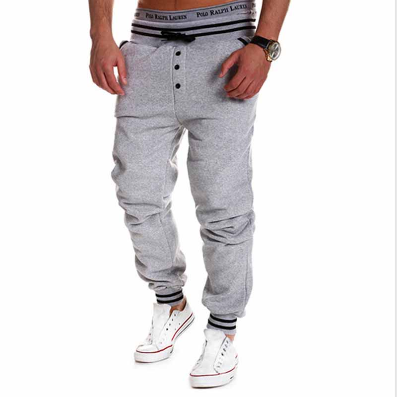 HEE GRAND 2018 Men Casual Pants Fashion Hip Hop Style Pants Drawstring Trousers Sweatpants Pantalones MKY125