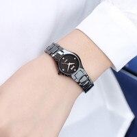 DALISHI Luxury Brand Women Pearl Ceramic Watch Fashion Casual Ladies Quartz Watches Reloj Mujer 30M Water Resistant Wrist Watch