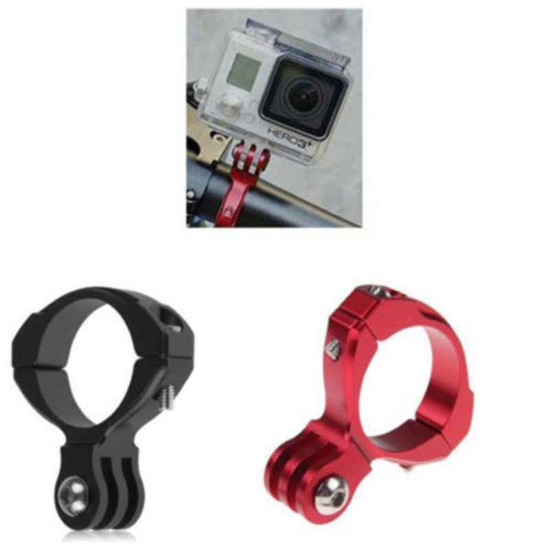 Panas Sepeda Motor 1/2/3/3 + Kamera Aksesoris Sepeda Siklus Sepeda Aluminium Stang Bar Clamp Mount tripod Untuk GOPRO HERO