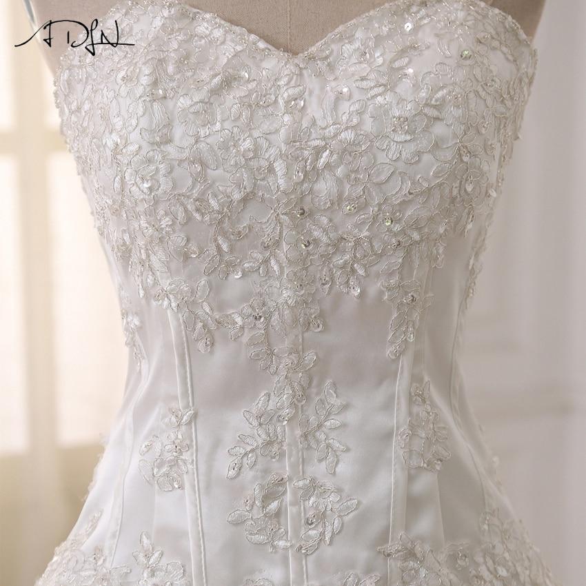 ADLN Bröllopsklänningar Vestidos de Novia Off Shoulder Sweetheart - Bröllopsklänningar - Foto 5