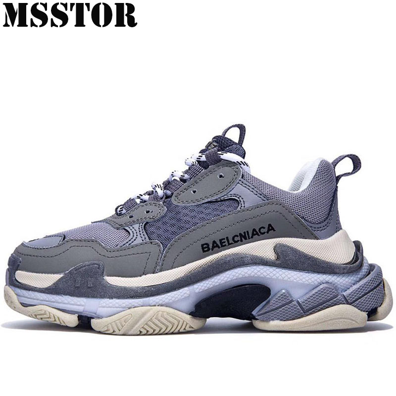 MSSTOR Retro Men's Running Shoes Woman Brand Summer Breathable Mesh Women Sport Shoes Outdoor Athletic Men Sneakers Run 35-45 недорго, оригинальная цена
