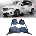 For BMW X5 E70 3 rows 7 Seats 2008 2009 2010 2011 2012 2013 Right  Left Hand Drive Black Front &Rear Floor Mat Carpets Pad cover