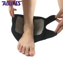 1Pcs Self-heating Magnet Ankle Support Brace Guard Protector Winter Keep Warm Sports Sales Tourmaline Product Foot retainer(China)