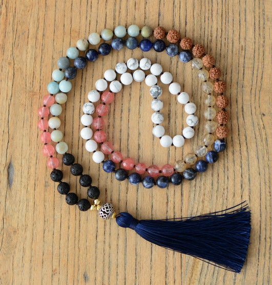 collier perle yoga
