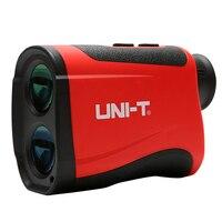 UNI T Telescope Laser Distance Meter Range Finder Rangefinder Hunting Golf Monocular 1200m Trena Laser Tape