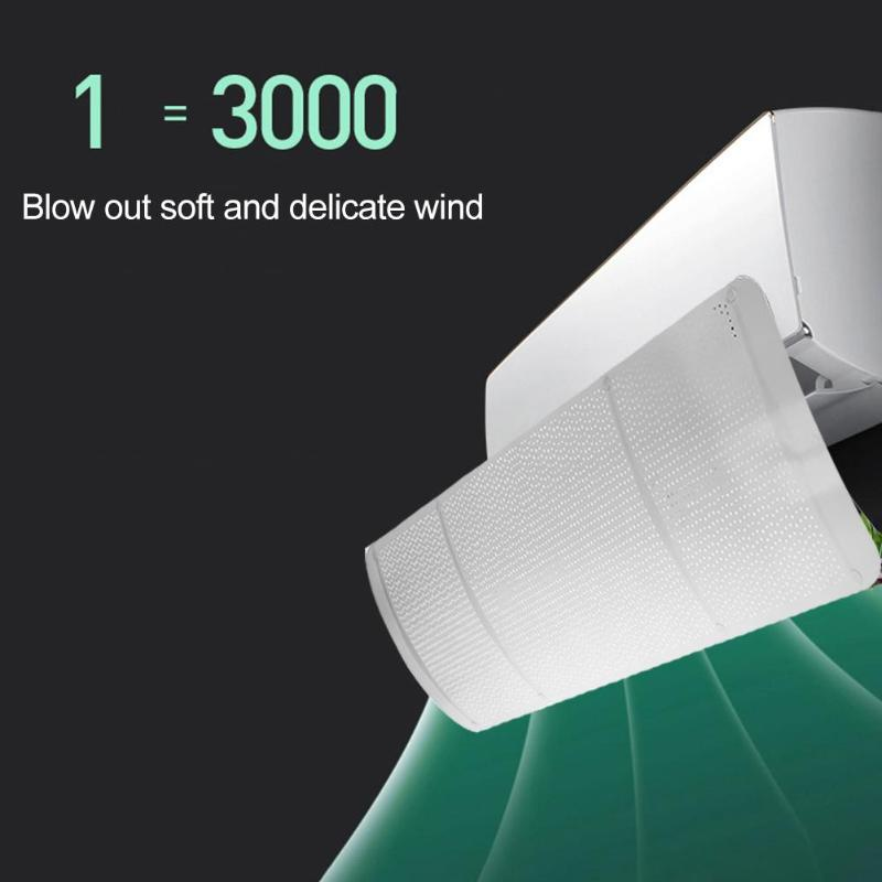 Cartoon Adjustable Air Conditioner Cover Windshield Air Conditioning Baffle Air Conditioning Baffle Shield Straight Anti-wind