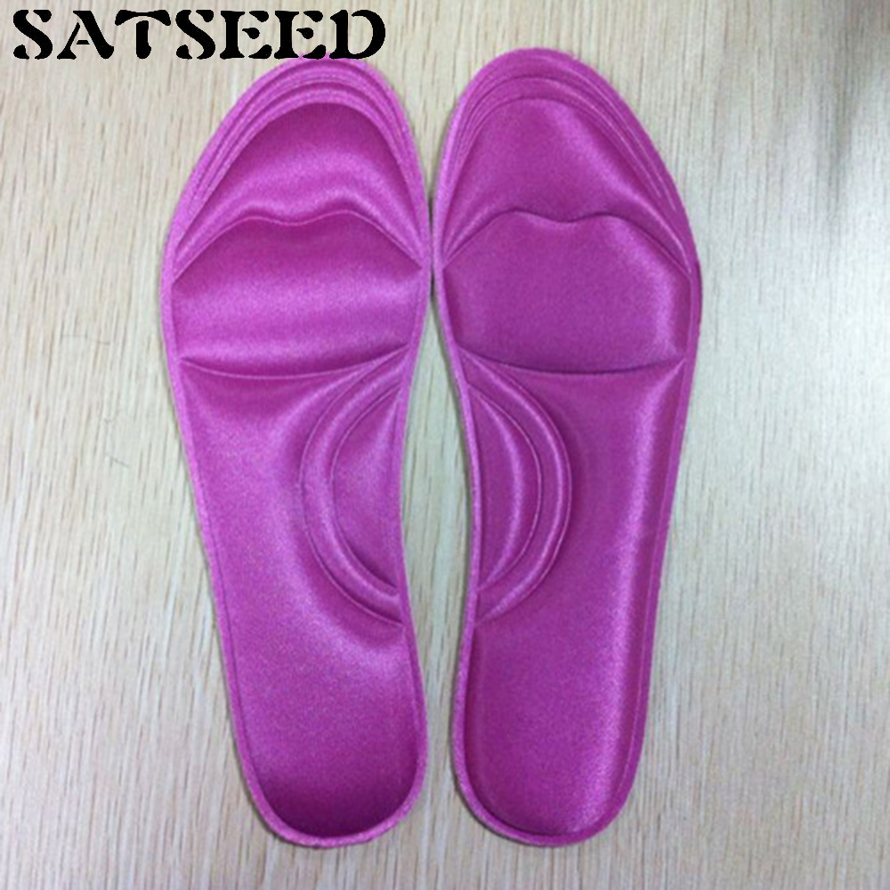 Memory Foam Thickened Slow Rebound Damping Military Training Insole Soft Absorbent Breathable Insole Summer Colorful