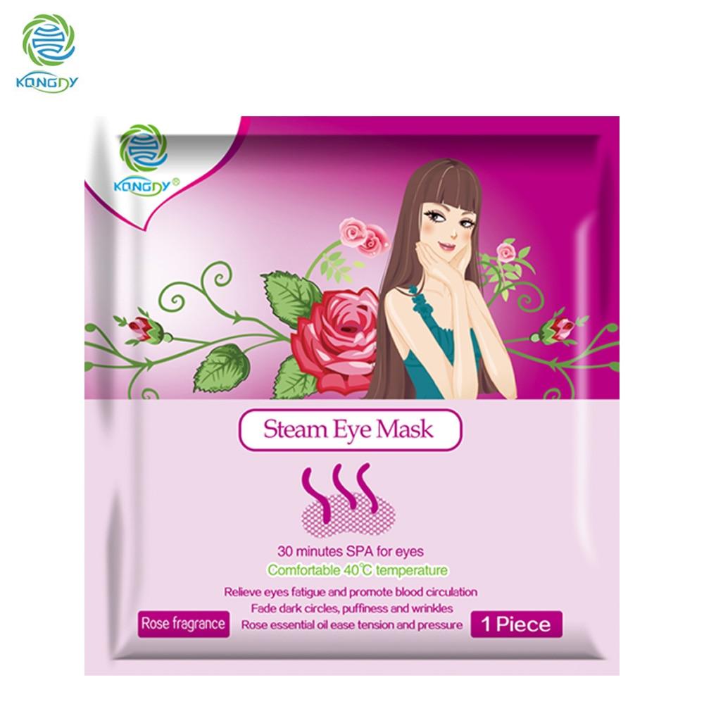 1 Bag Eye Care Steam Eye Mask Fragrance Warm Generating Eye Spa Moisturizing Dark Eyes Warmer Patch