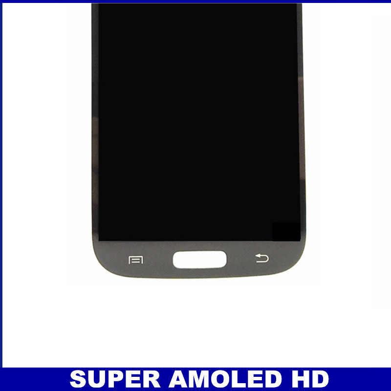 100% عالية الجودة AMOLED LCD قطع غيار سامسونج غالاكسي S4 i9500 i9505 i9506 i337 شاشات LCD للهواتف عرض محول الأرقام بشاشة تعمل بلمس