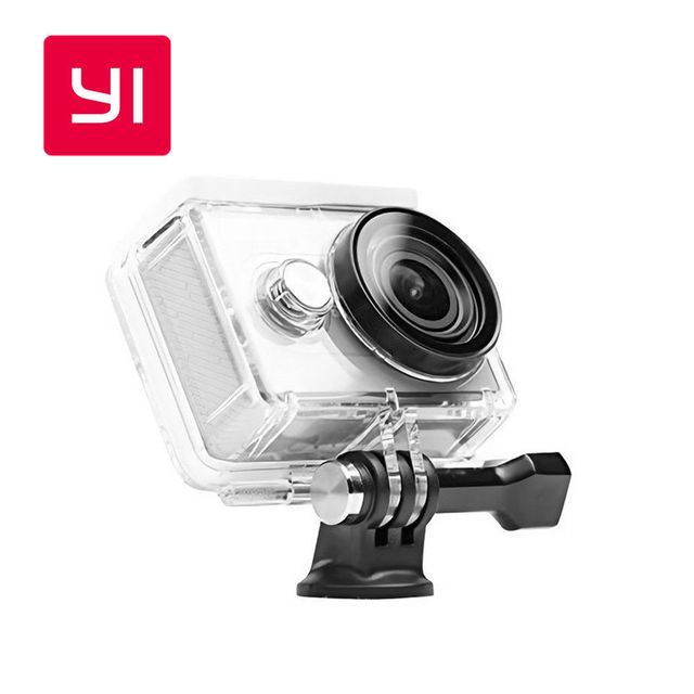 YI Waterproof Case For YI Action Camera Up to 40M Underwater Sports Swimming Diving YI Official