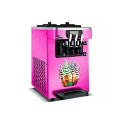 Hot sale commercial table top soft ice cream maker ice cream making machine