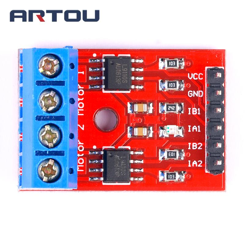 1pcs L9110S H-bridge Stepper <font><b>Motor</b></font> Dual <font><b>DC</b></font> Stepper <font><b>Motor</b></font> <font><b>Driver</b></font> Board Module L9110 for Arduino image