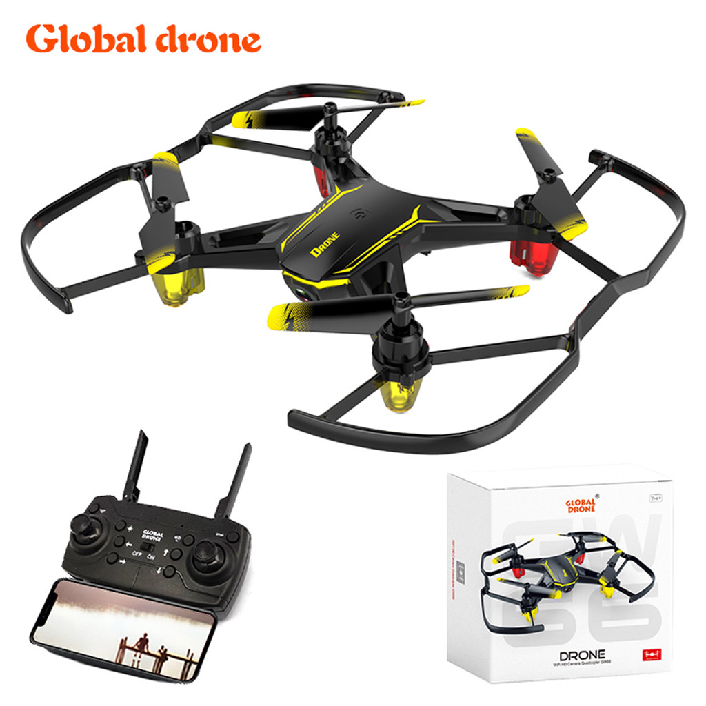 Global Drone GW66 Mini Drone With 480P WIFI FPV Camera RC Quadcopter Toys Quadcopter Helicopter RC Remote Control ToyGlobal Drone GW66 Mini Drone With 480P WIFI FPV Camera RC Quadcopter Toys Quadcopter Helicopter RC Remote Control Toy