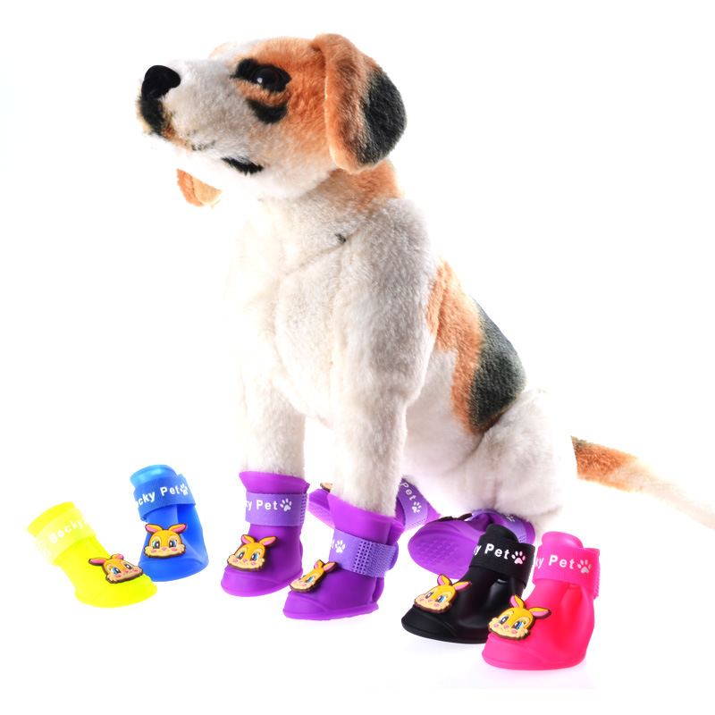 Aliexpress Com Buy Candy Colors Rabbit Puppy Booties