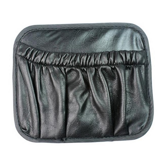 Accessoires d'intérieur de voiture multi-usages PU boîte de rangement noir divers sac Auto Net poches épicerie voiture débris sacs sac de rangement