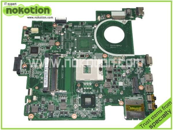 NOKOTION MBV4Z06001 MB.V4Z06.001 laptop motherboard for acer travelmate 5760 DA0ZRJMB8C0 hm65 gma hd 3000 ddr3 laptop motherboard for acer asipre m3 581t nbry811004 jm50 i3 2367m hm77 gma hd 3000 ddr3