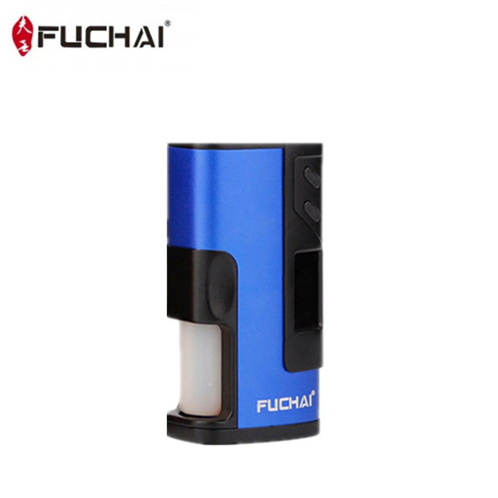 Fuchai 213 Squonk Kit 5 ml Capacité 150 w Squonk Boîte Mod E Cigarette Alimenté par 21700 18650 Batterie VS cuboid 150 Vaporisateur Kit - 4
