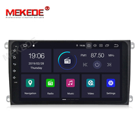 MEKEDE Car Multimedia Player 1DIN car radio gps Android 9.0 For Porsche/Cayenne OBD2 Microphone Bluetooth USB DVR DAB Wifi