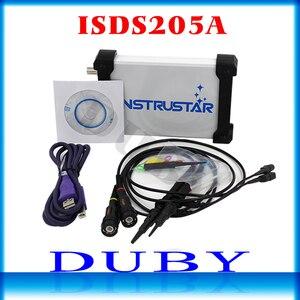 Image 1 - Mdso isds205a nova atualização 3 em 1 multifuncional 20m usb osciloscópio digital virtual + analisador de espectro gravador dados