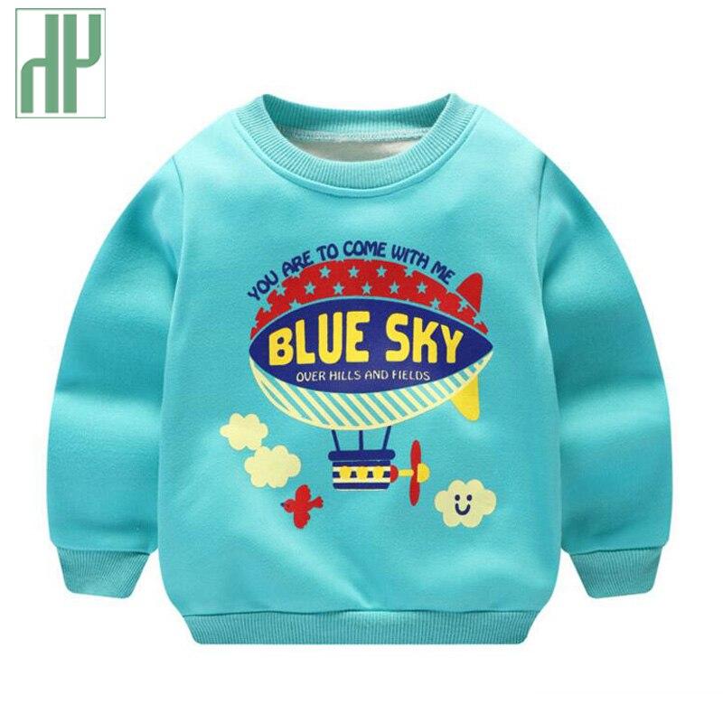 Camisola das crianças dos miúdos meninos Grosso 2018 primavera Outono Casaco bebê Menina Outwear inverno quente bebê Dos Desenhos Animados camisola 2 4 6 8 anos