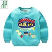 Childrens sweatshirt kids boys Thick 2018 Autumn spring baby Girl Coat Cartoon Outwear warm winter sweater 2 4 6 8 years