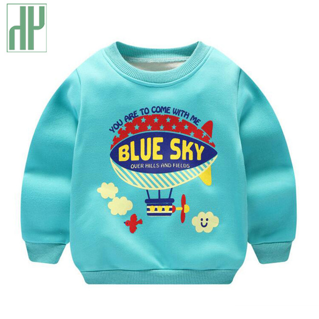 04c66e8b6 Children s sweatshirt kids boys Thick 2018 Autumn spring baby Girl ...