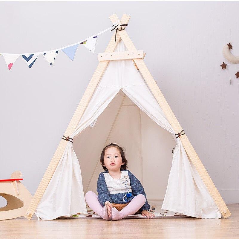Kinderen Tent Oversized Indoor Game Room Baby Jongen en Meisje Speelgoed Huis Spel Tent Koningin Prinses Huis Vouwen Speeltent - 5