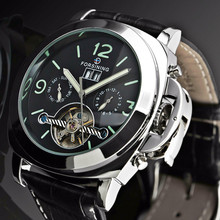 цены Forsining 2018 Automatic Watch Men Date Week Erkek Kol Saati Watches Male Tourbillon Classic Clock Waterproof Relogio Masculino