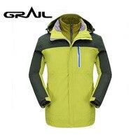 Грааль Для мужчин Уличная куртка с подогревом GORE TEX Альпинизм горы пальто Для мужчин лыжная куртка для кемпинга hikingm2103a