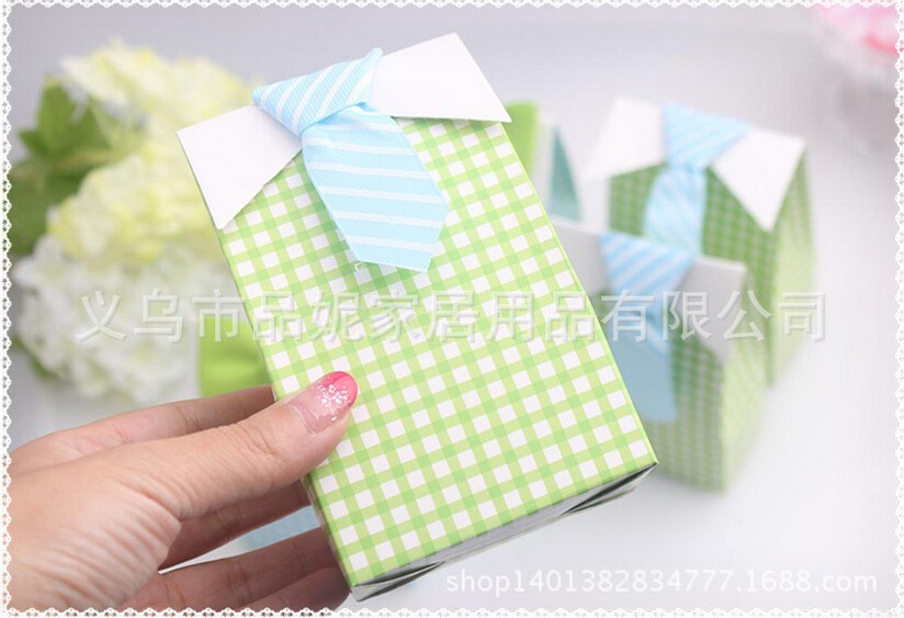 50 BLUE PARTY FAVOR TREAT BOXES BAG GREAT FOR BIRTHDAYS WEDDING  BABY SHOWER