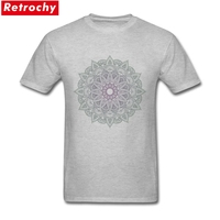 Absolut mandala Shirt Design Personalised Shirt Boy White Short Sleeve Plus Size