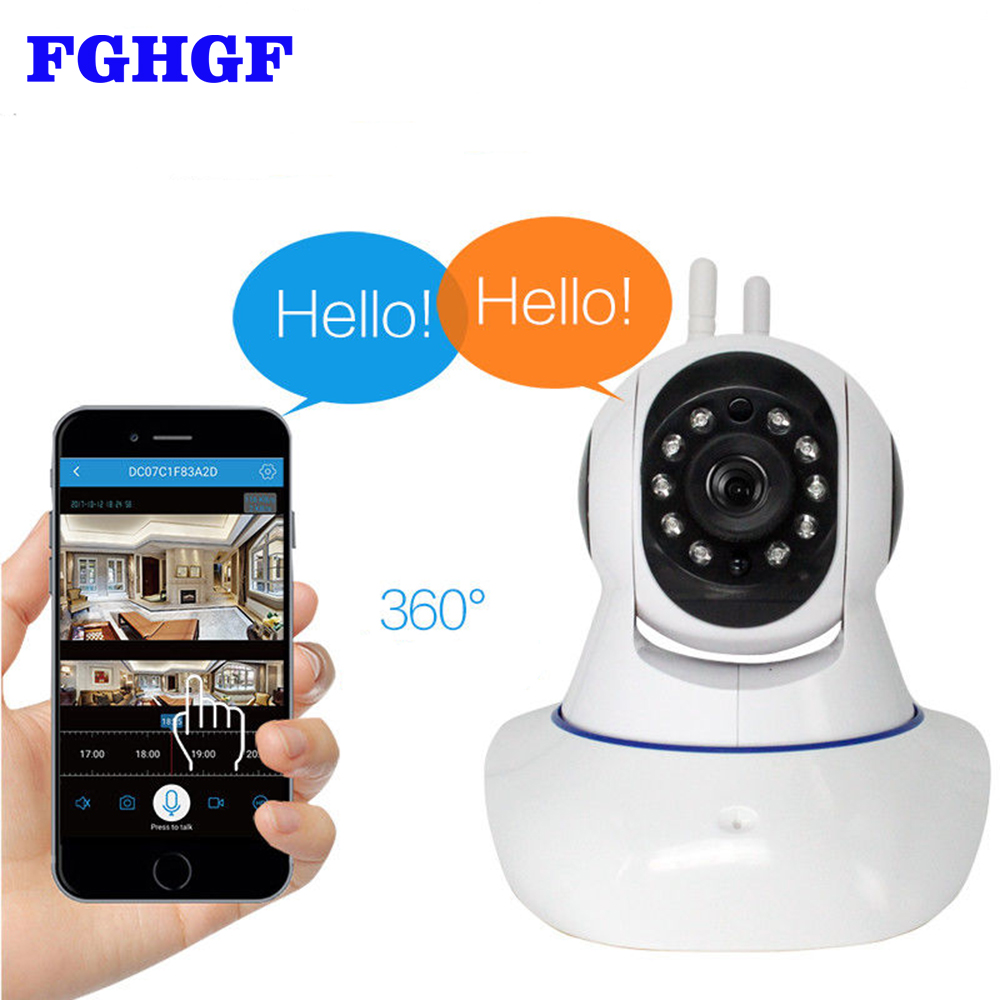 FGHGF 1080P Pan/Tilt Wireless WiFi IP Camera Home Security Surveillance Video Camera with Two Way Audio Night Vision for Baby fghgf 720p wireless ip security camera baby pet video monitor home security system with pan and tilt two way audio night vision