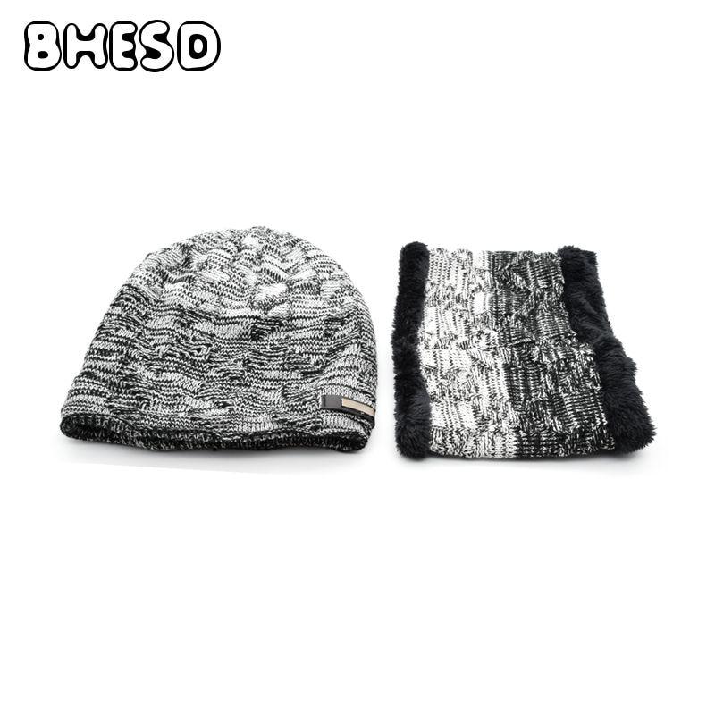 BHESD 2017 Autumn Knitted Hat Set Plus Cashmere Men Winter Beanie Skullies Neck Warmer Male Warm Woolen Cap Bone Bonnet JY-504 copier drum opc for ricoh aficio mp 5500 6500 7500 6000 7000 copier for ricoh mp5500 mp6500 mp7500 mp6000 mp7000 drum unit opc