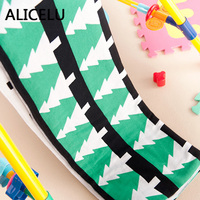 ALICELU Bulk Weaving Blanket Christmas Tree Double Face Different American Cartoon Baby Baby Sofa Bedding Cotton Knit Blanket