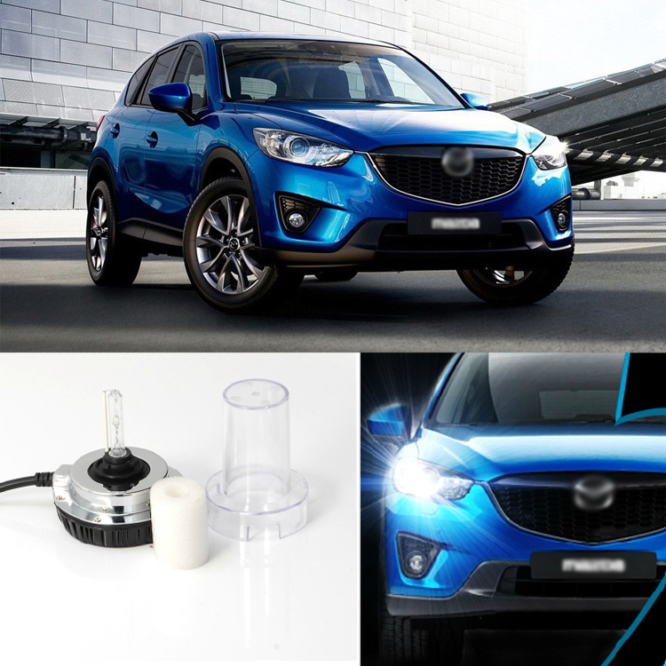 iPobooTech New Generation All In One Lower Beam Error Free 9005 HID Lights For Mazda CX-5
