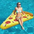 Pizza de Flotador de La Piscina inflable Juguetes Inflar Colchones de Aire Juguetes para Adultos Juguetes Divertidos Deportes Al Aire Libre Piscina de Verano Deportes Acuáticos