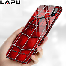 Cover Phone Case For iPhone 7 8 Plus With Tempered Glass Cases Soft side TPU PC Shell For iPhone 6 6S Plus xs max XR X/XS Capa цены