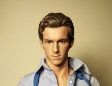 1/6 Tom Holland Head Sculpt For Spider-Man The Avengers Hot Toys PHICEN
