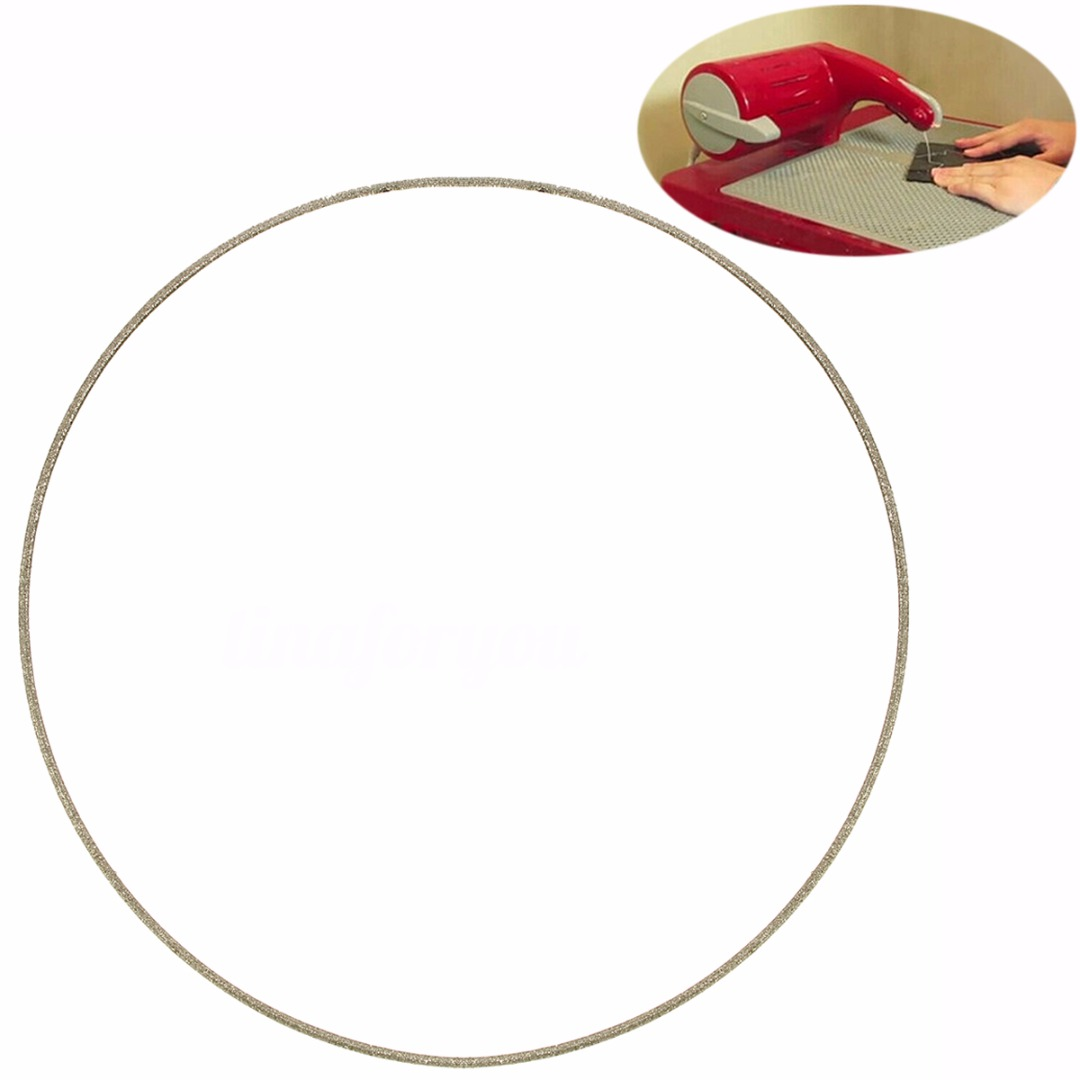 1pc High Quality 143mm Stained Glass Replacement Diamond Ring Saw Blade For Gemini Taurus 3 Ring Band Saw,Cutting Glass