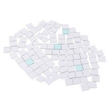 100 Piece Self-adhesive Tile 3D Mirror Wall Stickers Decal Mosaic Room Decorations Modern Self-adhesive Mirror Tiles Stickers